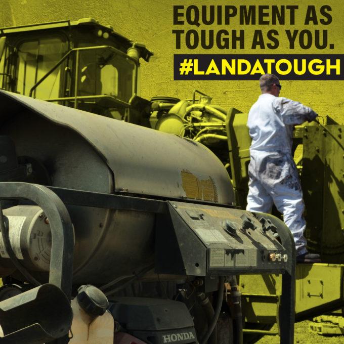 #Landatough